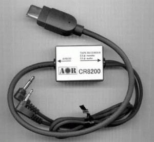 Interface AOR CR8200