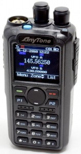 AnyTone AT-D878UV DMR GPS APRS