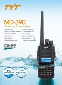 TYT MD-390 GPS IP67 VHF SP-DMR